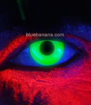 Edit I Glow UV 90 Day Coloured Contact Lenses (Green) Pair