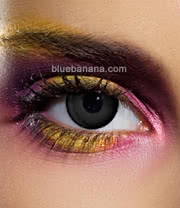 Edit 90 Day Coloured Contact Lenses (Black) Pair