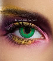 Edit Tri-Tone 90 Day Coloured Contact Lenses (Green) Pair