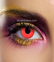 Edit 90 Day Coloured Contact Lenses (Red) Pair