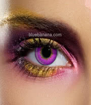 Edit Tri-Tone 90 Day Coloured Contact Lenses (Violet) Pair