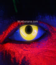 Edit I Glow UV 90 Day Coloured Contact Lenses (Yellow) Pair
