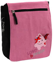 Love & Peace Love Shoulder Bag (Pink)