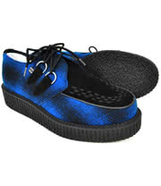 T.U.K Mondo Lo Creeper Shoe (Blue)
