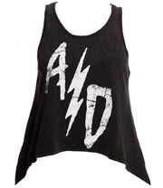 Abbey Dawn Strike it Rich Vest (Black)