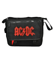 AC/DC Messenger Shoulder Bag (Black)