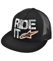 Alpinestars Ride It Trucker Hat (Black)