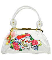 Anna Smith Love Kills Handbag (White)