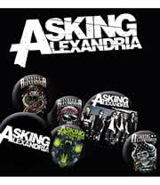 Asking Alexandria Badge Set