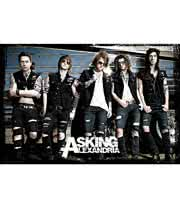 Asking Alexandria Bus Poster