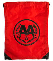 Asking Alexandria Circle Logo Gym Bag (Red)