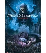 Avenged Sevenfold Nightmare Poster