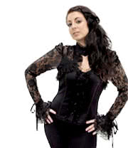 Banned Corset Top (Black)
