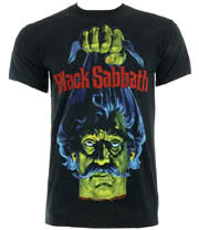 Black Sabbath Head T Shirt (Black)