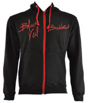 Black Veil Brides Ink Varsity Hoodie (Black)