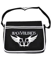 Black Veil Brides Logo Messenger Bag (Black)