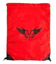 Black Veil Brides Logo Gym Bag (Red)