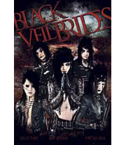Black Veil Brides Red Maxi Poster