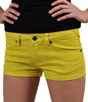 Bleeding Heart Hot Pants (Yellow)