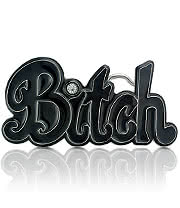 Blue Banana Bitch Belt Buckle (Black)