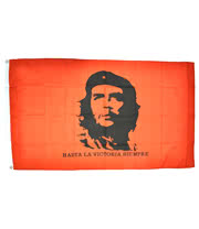 Blue Banana Che Guevara Flag (Red)
