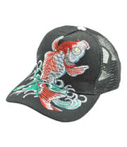 Blue Banana Fish Stitch Baseball Hat