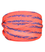 Blue Banana Barbed Wire Headband (Red)
