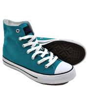 Blue Banana Sea Foam High Top Boots (Aqua)