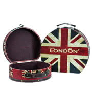 Blue Banana Union Jack Keepsake Boxes (Set Of 2)