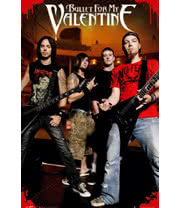 Bullet For My Valentine Theatre Poster