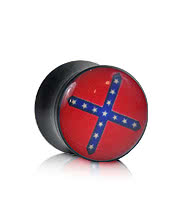 Ikon Confederate Flag Plug (Red)