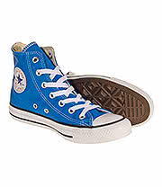 Converse All Star Hi Top Boots (Blue Sapphire)