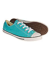Converse All Star Dainty Trainers (Aqua)