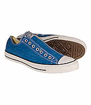 Converse All Star Slip On Shoes (Blue)