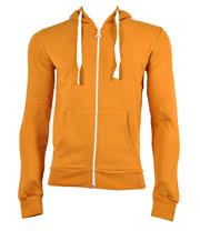 Criminal Damage Plain Skinny Fit Hoodie (Golden)