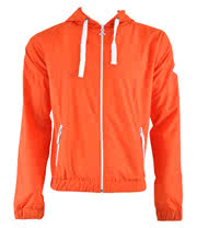 Criminal Damage Track Skinny Fit Hoodie (Orange)