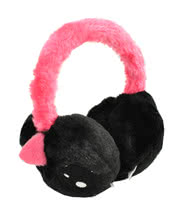Cupcake Cult Monster Earmuffs (Black)