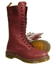 Dr Martens Virginia 1914 Boots (Cherry Red)