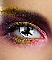 EDIT 1 Year Bird Coloured Contact Lenses (Black/White)