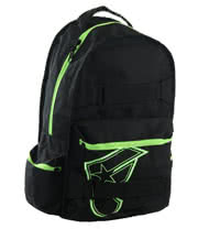 Famous Stars and Straps Lowrider Backpack (Black)