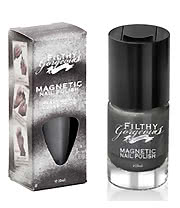 Filthy Gorgeous London Heavy Metal Magnetic Nail Polish (Metallic Silver)