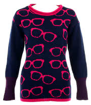 Flip Flop And Fangs Geek Jumper (Navy)