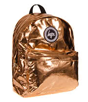 HYPE Metallic Backpack (Gold)