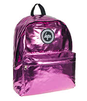 HYPE Metallic Backpack (Pink)