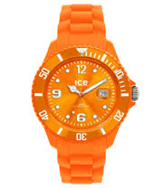 Ice Watch Silicon Orange Watch (Unisex)