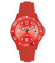Ice Watch Silicon Red Watch (Large)