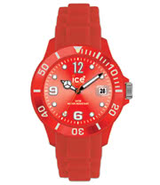 Ice Watch Silicon Red Watch (Unisex)