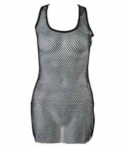 Insanity Mesh Vest Top (Black)
