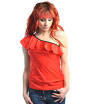 Insanity Frilly Red Top