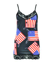 Insanity USA Pin Vest (Black)